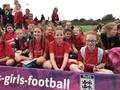 Sept 2017. FA Girls' Football Festival