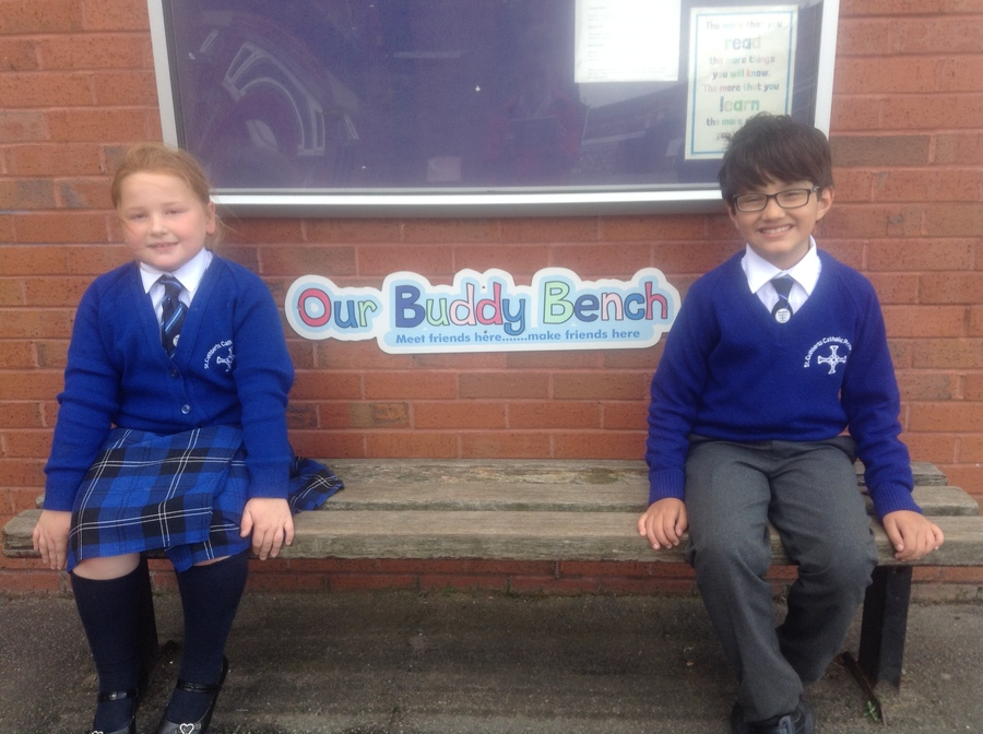 Year 3's School Buddies: Evie & Adam