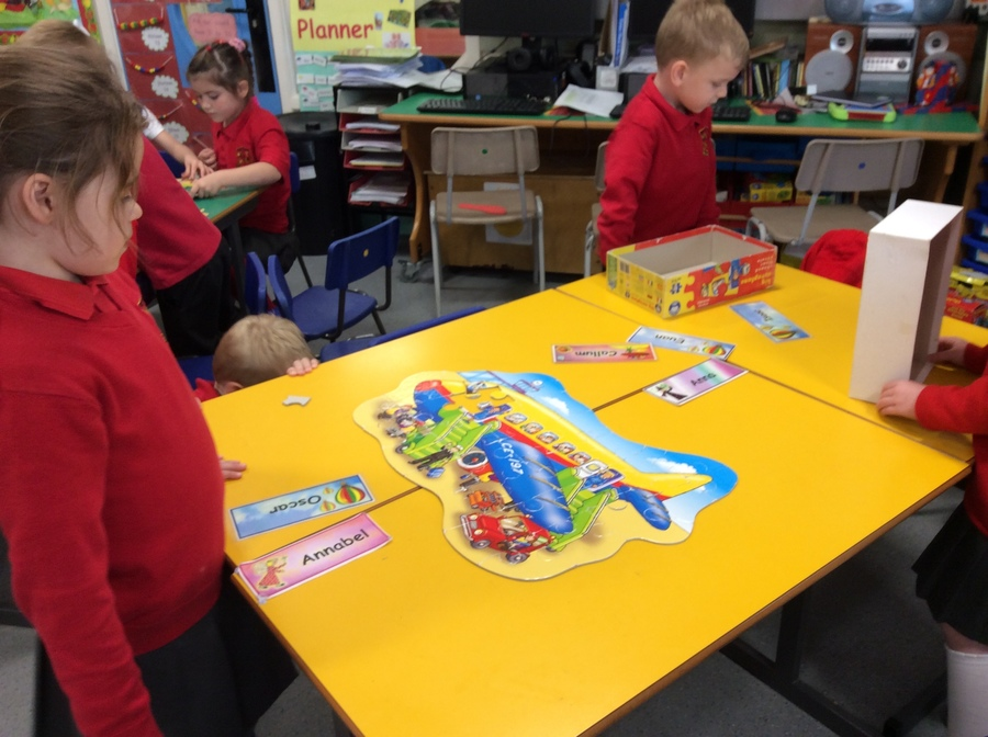 We can build jigsaw puzzlesin P.2W