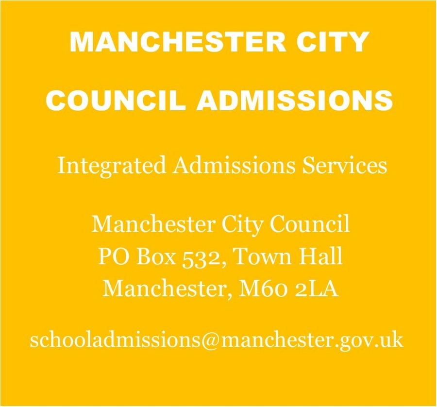 Manchester City Council Primary School Admissions