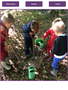 Digging for fossils and gold in Forest School.
