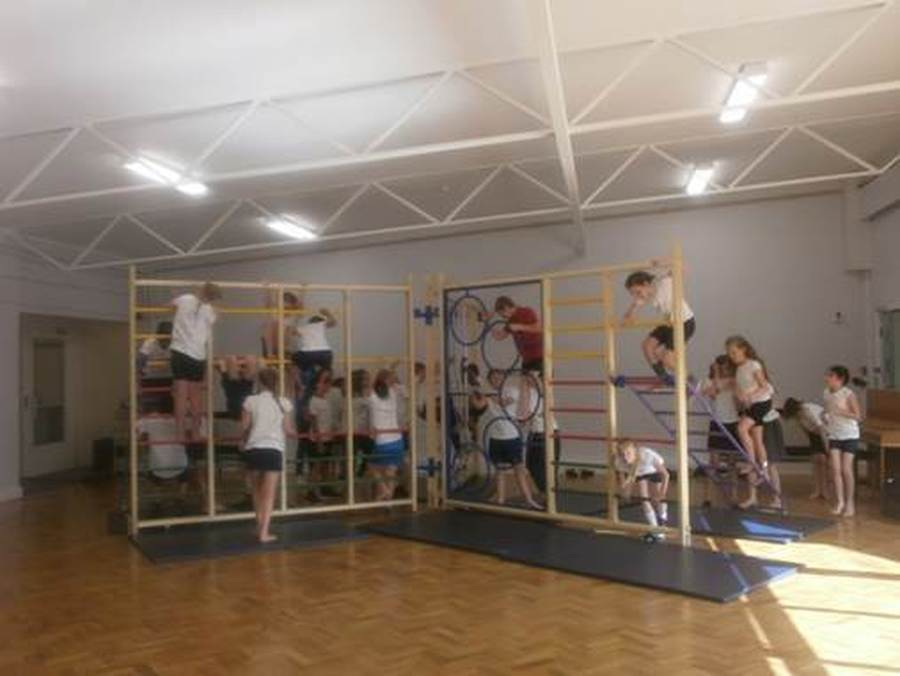 Hall gym equipment