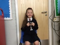 Megan - Being a fantastic buddy to reception when walking to the church. Megan is kind,caring and a wonderful role model.