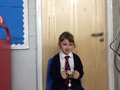 Georgie - Concentrating and doing her best at all times, Georgie is always challenging herself. Excellent artwork and science this week in particular.