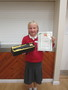<p>Jessica</p><p>brought her </p><p>Record of Achievement in from Stage Coach</p>