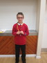 <p>George brought his</p><p>&nbsp;Cockermouth Junior Football Club Award to share</p>