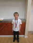 <p>Jayden shared his I Caan</p><p>&nbsp;Fun Run Certificate</p>