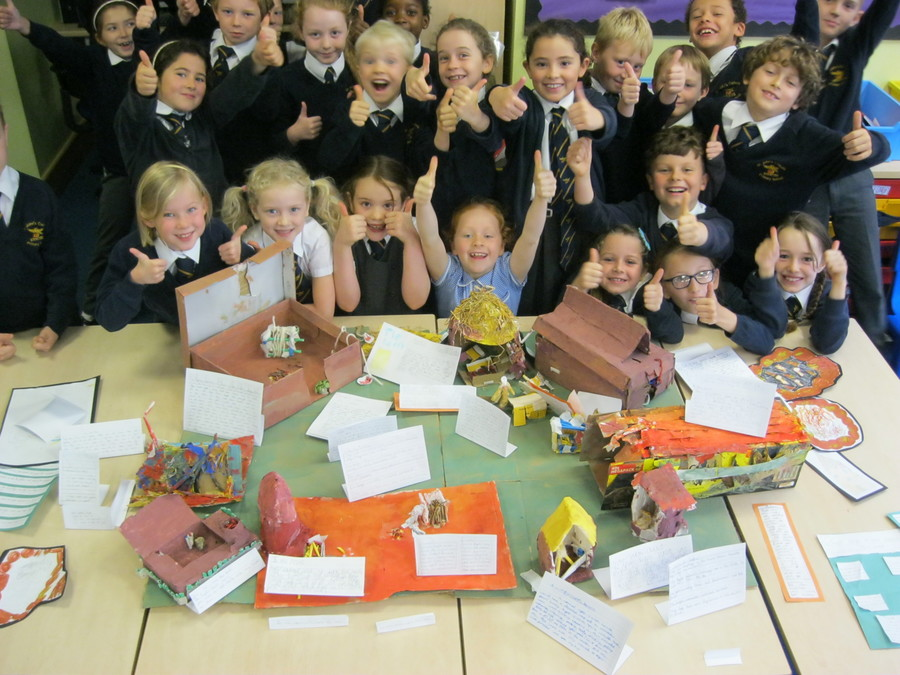 Our Anglo-Saxon village